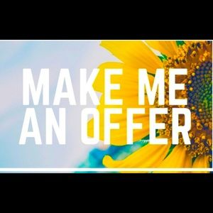 Make me an offer I cannot refyse😉